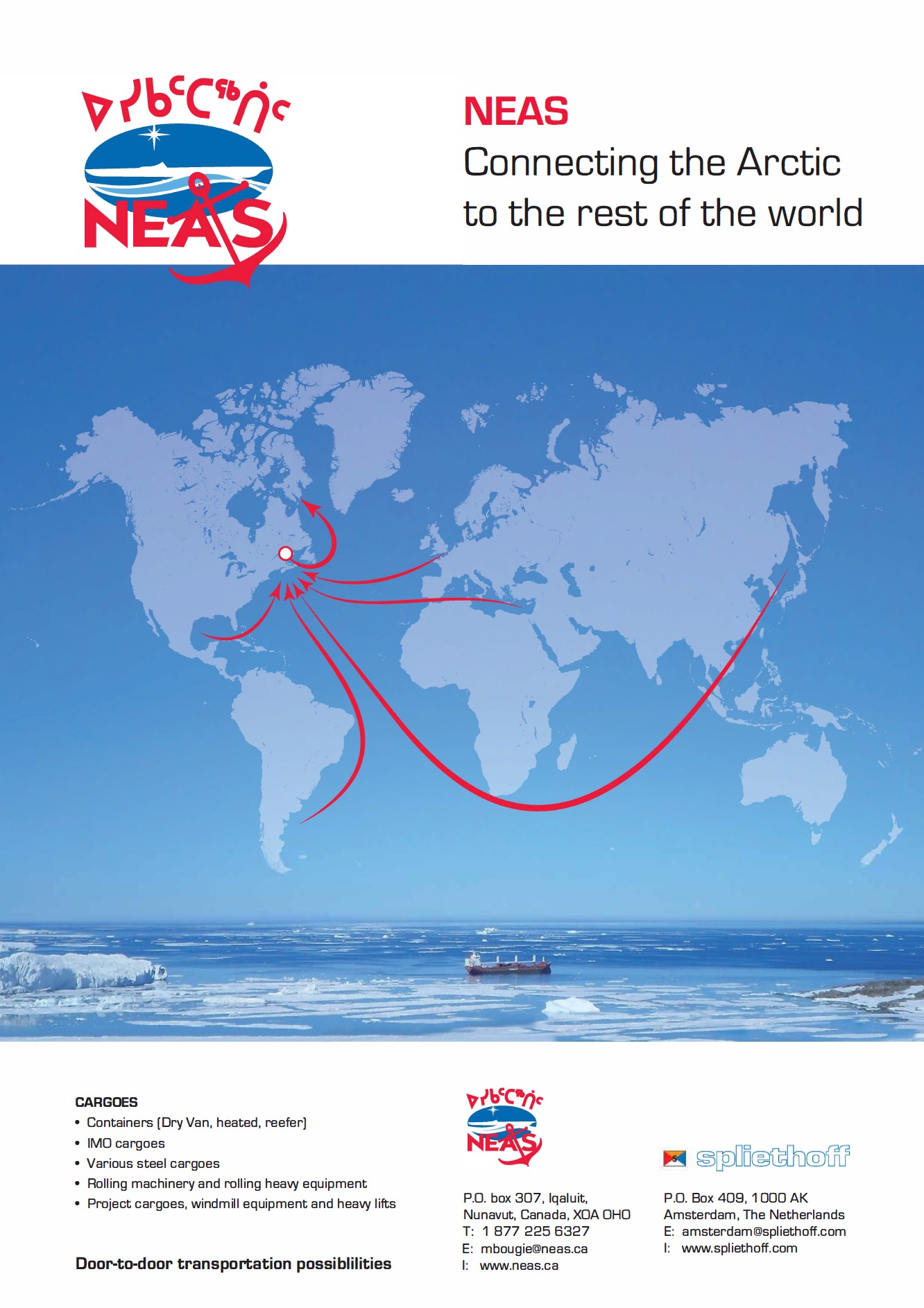 NEAS Flyer - Connecting the Arctic to the Rest of the World